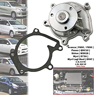 Best myvi water pump Reviews