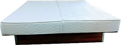 WABEZU Housse 160 x 200 cm + 2 Partie supérieure pour changer de lit à eau - Pas de démontage nécessaire - Lit à eau Softside - Surmatelas à eau avec fermeture Éclair - Housse de matelas Lyocell I - Protège matelas facile d'entretien I - Housse de matelas à eau