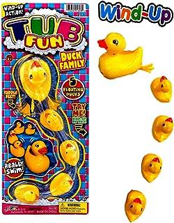 2GoodShop Bathtub Wind-Up Ducks Bath Toys Duck Family | Item #1828-1