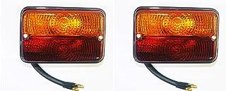 Massey Ferguson Tractor MF 35 MF 1035135 148 165 168 175 178 185 188 240 265 275 290 550 560 - Juego de 2 luces traseras intermitentes (12 V)