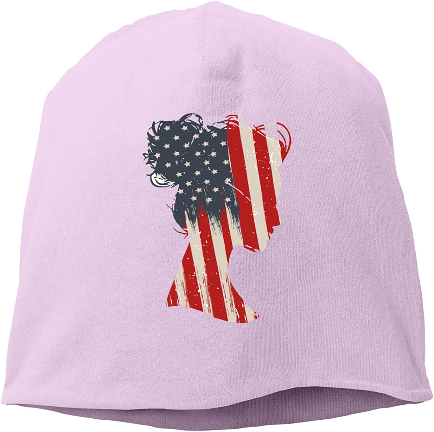 chenhe Woman Large-scale sale USA Flag Limited Special Price Hat,Unisex Hedging Cap Knitted Adjust