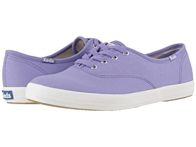 Keds Champion Seasonal Solids (Aster Purple Canvas) Women