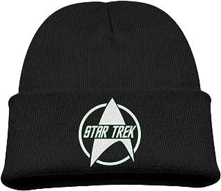 Star Trek Logo Unisex Knit Slouchy Hat Beanies Cap Black