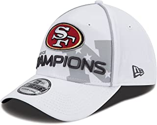 New Era Men's San Francisco 49ers 2012 NFC Conference Champions Trophy Collection 39THIRTY? Structured Flex Hat Medium/Large