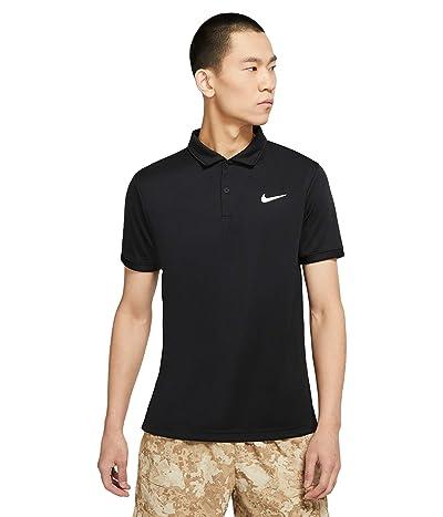 Nike Nike Court Dry Victory Polo (Black/White) Men