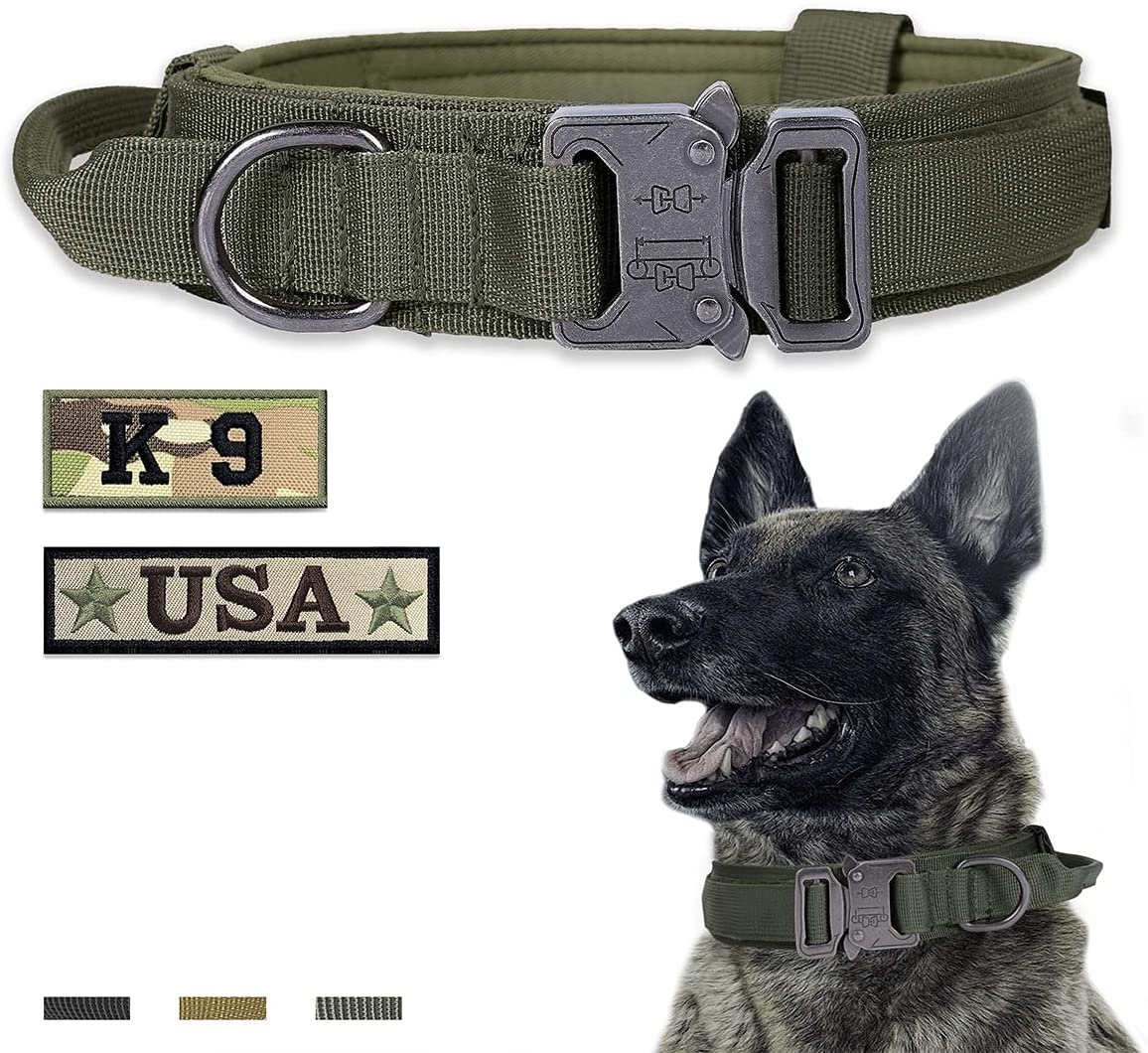 Amai Keto Tactical Limited time for free shipping Dog Minneapolis Mall Collar Dogs,Adj and for Large Medium
