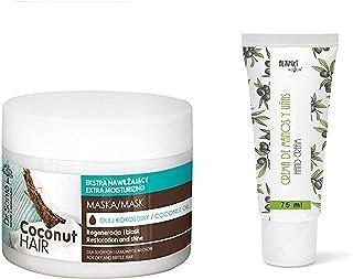 Dr. Sante Extra hydraterend masker met kokosolie voor droog en broos haar, 300 g