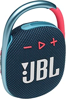 مكبر صوت محمول يعمل بتقنية بلوتوث كليب 4 من جي بي ال بلون ازرق مرجاني