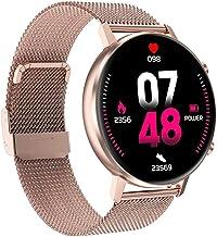 TIANYOU Smart Horloge, Fitness Activiteit Hartslagmeter Touchscreen Bluetooth Smartwatch Slaapmonitor Ip67 Waterdicht Spor...