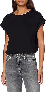 Urban Classics Damer kvinnor utökad axel T-shirt