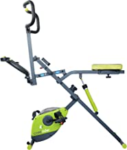 Corerider 2-in-1 CORE and AB fitness machine, delivers a full body workout, combining muscle toning, fat burning cardio and endurance.