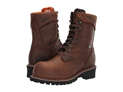 Timberland PRO 9 Buzzsaw Composite Safety Toe Waterproof Logger (Brown) Men