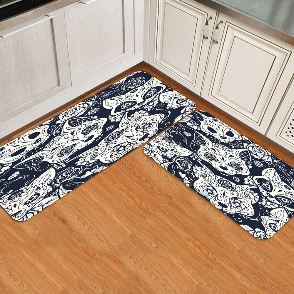 BEIDIDA Cushioned Anti-Fatigue Kitchen Rug Very popular Sale Special Price Absorb Non-Slip Water
