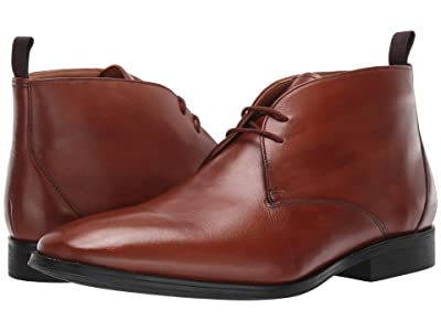 Clarks Gilman Mid (Dark Tan Leather) Men