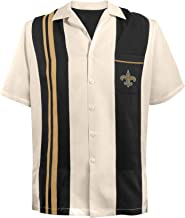 new orleans saints bowling shirt