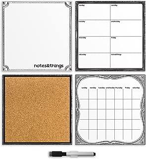 Brewster White 4 Piece Organizer Set