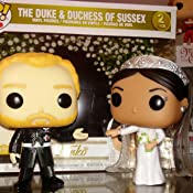 FunKo Free Shipping! Royal Family Duke /& Duchess of Sussex Pop Vinyl 2 Pack