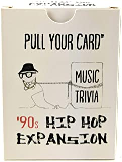 Pull Your Card Music Trivia: '90s Hip Hop Expansion | Multiple Choice Game Deck | Party Pack | Game Night | Rap Trivia | Hip Hop History | Rap History |