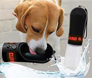 DOG Water Bottle. NFL CLEVELAND BROWNS PET WATER BOTTLE. BEST Cat Water Bottle. Water Fountain Dispenser for DOGS & CATS.