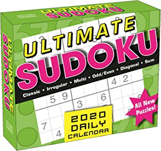 Ultimate Sudoku 2020 Boxed Daily Calendar