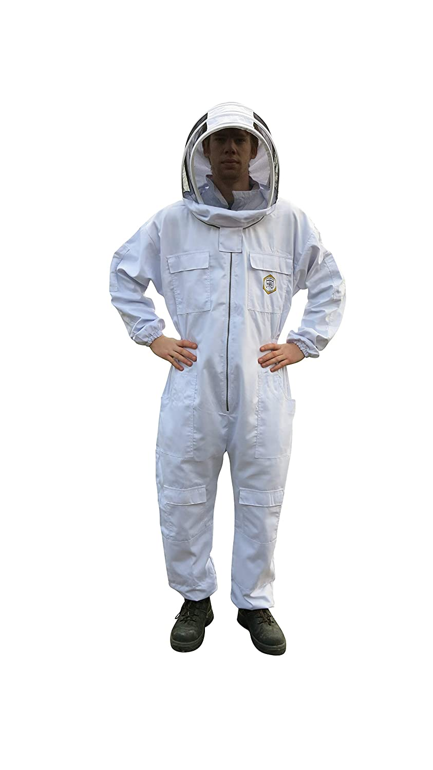Apiary Additions お歳暮 卓抜 Beekeeping Suit with Metal Zip Veil Fencing and