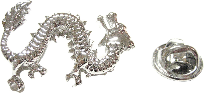 Kiola Designs Full Length Dragon Lapel Pin