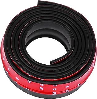 NOTENS Gummi frontstoßstange schutz lippe Universal 2,5 Mt Auto Frontstoßstange Splitter Spoiler Gummischutz Körper Trim 8,2ft