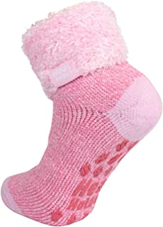 Warm Winter Thermal Lounge Socks - Candy Twist - Day Dreamer UK 4-8 US 5-9