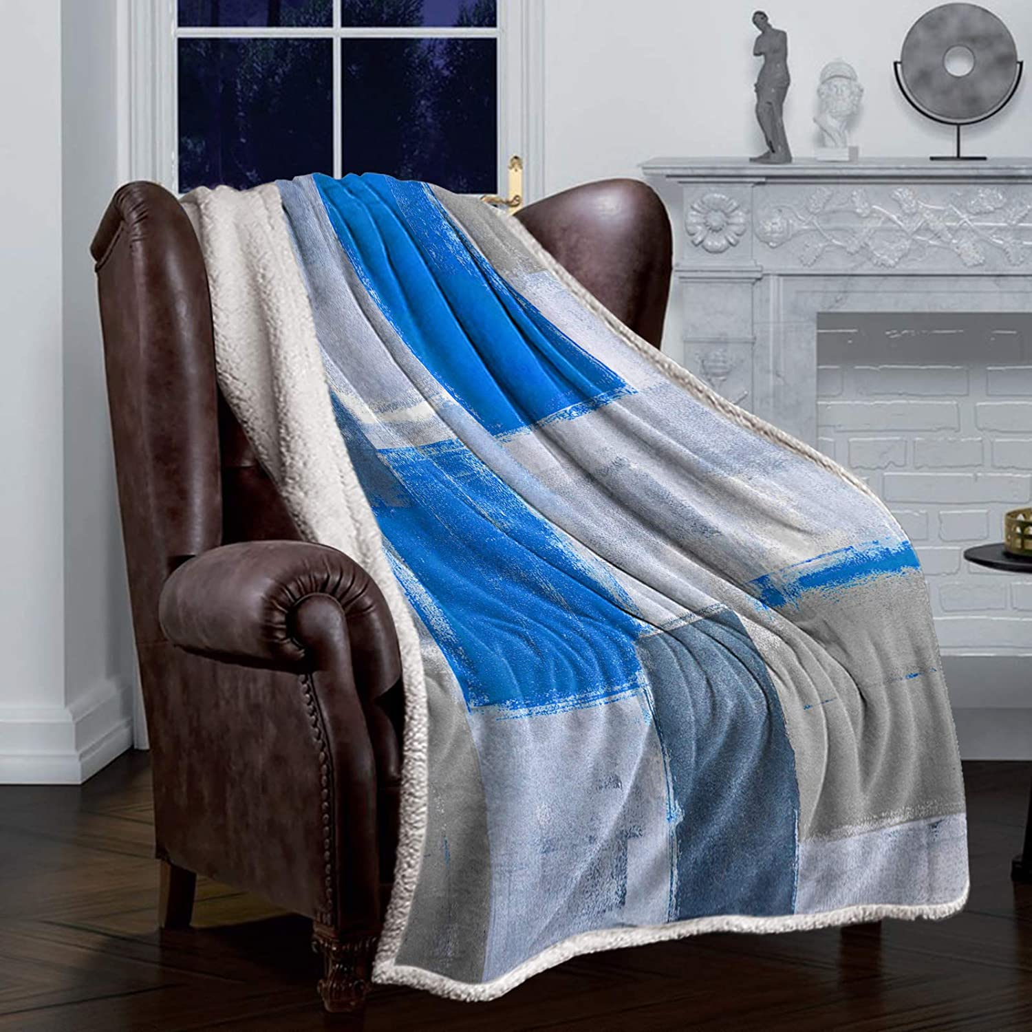 COLORSUM Comfort Throw Blanket In stock Geometric S Abstract Challenge the lowest price Painting Oil