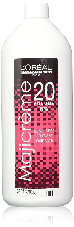 Loreal Maji Creme Developer Lotion 20 Volume 6% 33.8 oz New Pack: Beauty