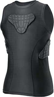 TUOYR Youth Padded Compression Shirt Vest Rib Chest Protector Football Baseball