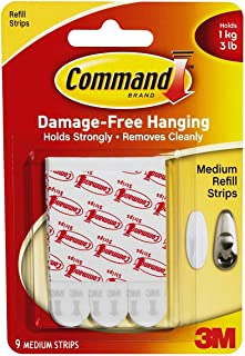 Command Medium Mounting Refill Strips 6CRR4, 18-Strip
