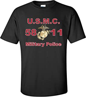 United States Marine Corps MOS 5811 Military Police T-Shirt