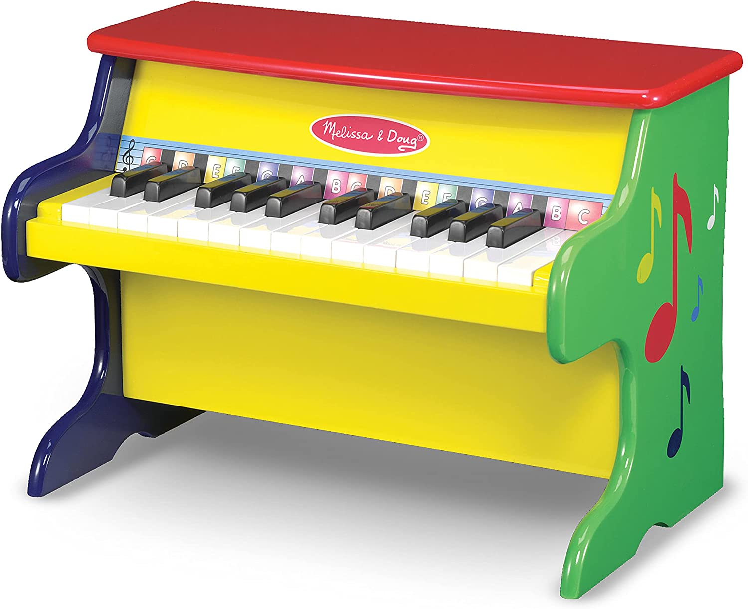 Melissa Doug Learn-To-Play Piano With Keys Color-Coded 25 Max Super sale 89% OFF and