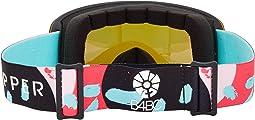 B4BC Mint Satin/Pink Chrome Lens