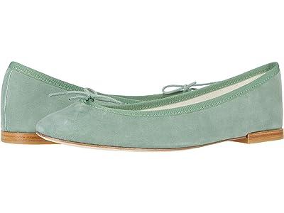 Repetto Cendrillon (Jade Green Suede) Women