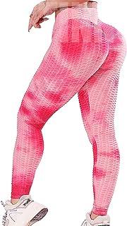 INSTINNCT Womens Yoga Pants Sexy Scrunch Butt Lift High Waist Anti Cellulite Squat Proof Workout Leggings