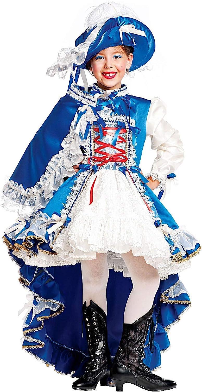Carnevale Venizano CAV50555-M - Kinderkostüm MOSCHETTIERA - Alter  7-10 Jahre - Gre  M