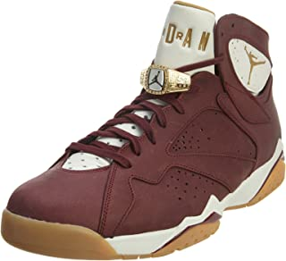 Jordan Men Air 7 Retro - Cigar (Red/Team Red/Metallic Gold/Gum)