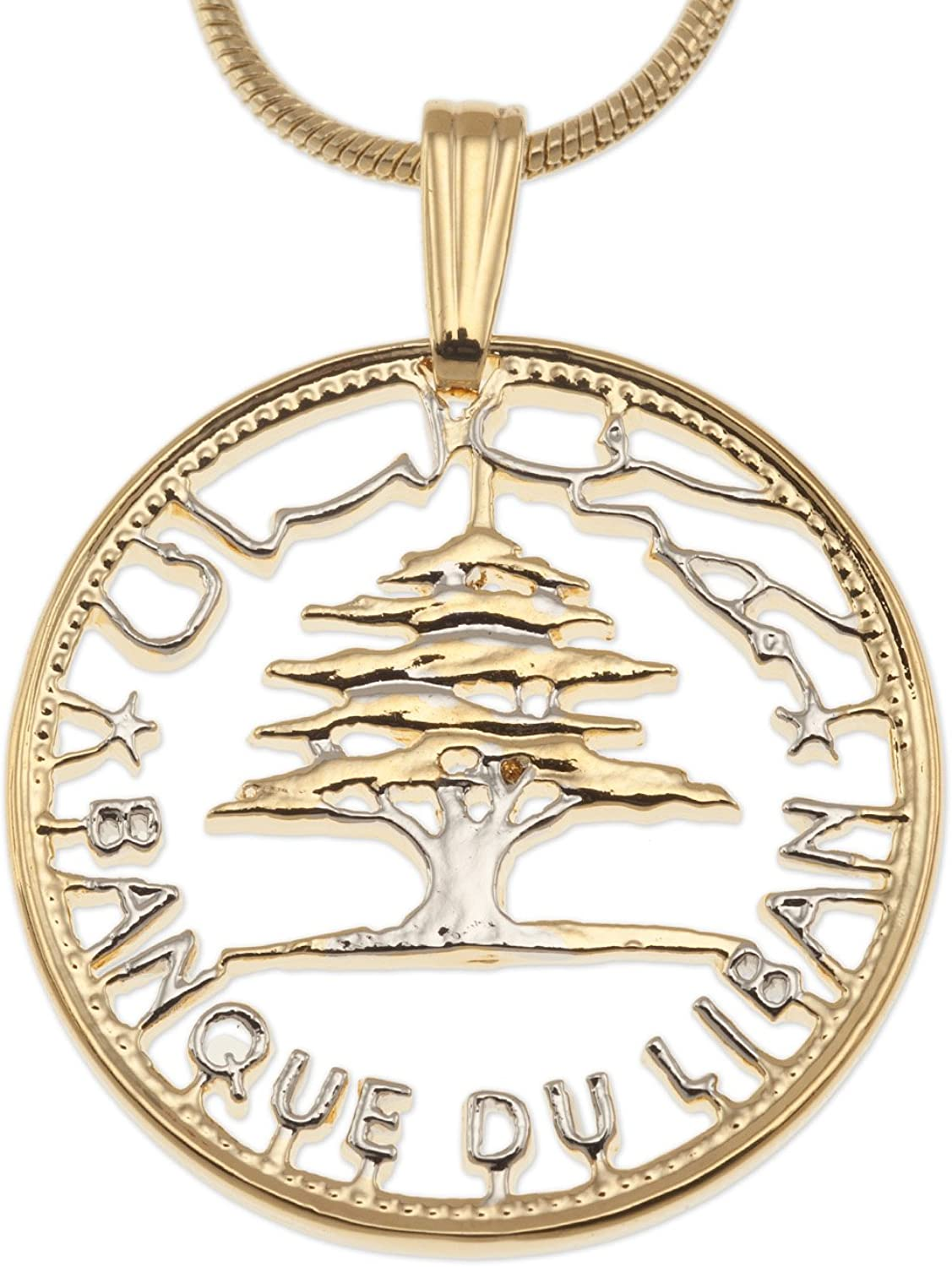 The Difference World Sales for sale Coin Jewelry Cedar Pendant Tree Popular shop is the lowest price challenge of Lebanon