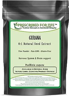 Guarana - 4:1 Natural Seed Extract Powder (Paullinia cupana), 2 oz