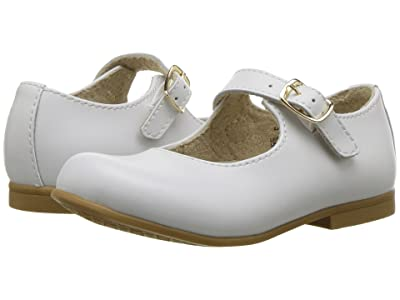 FootMates Laura (Toddler/Little Kid) (White) Girls Shoes