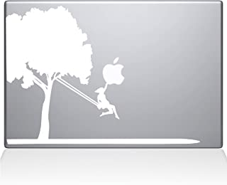 "The Decal Guru Tree Vinyl Sticker, 13"" Macbook Pro (2016 & newer) 13"" Macbook Pro (2016 & newer) white 0163-MAC-13X-W"