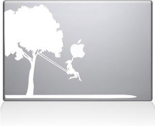 "The Decal Guru Tree Vinyl Sticker, 13"" Macbook Pro (2016 & newer) 13"" Macbook Pro (2016 & newer) white 0163-MAC-13X-W"