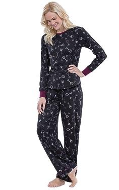 PajamaGram Womens PJs Sets Cozy - Ultra Soft Women Pajamas