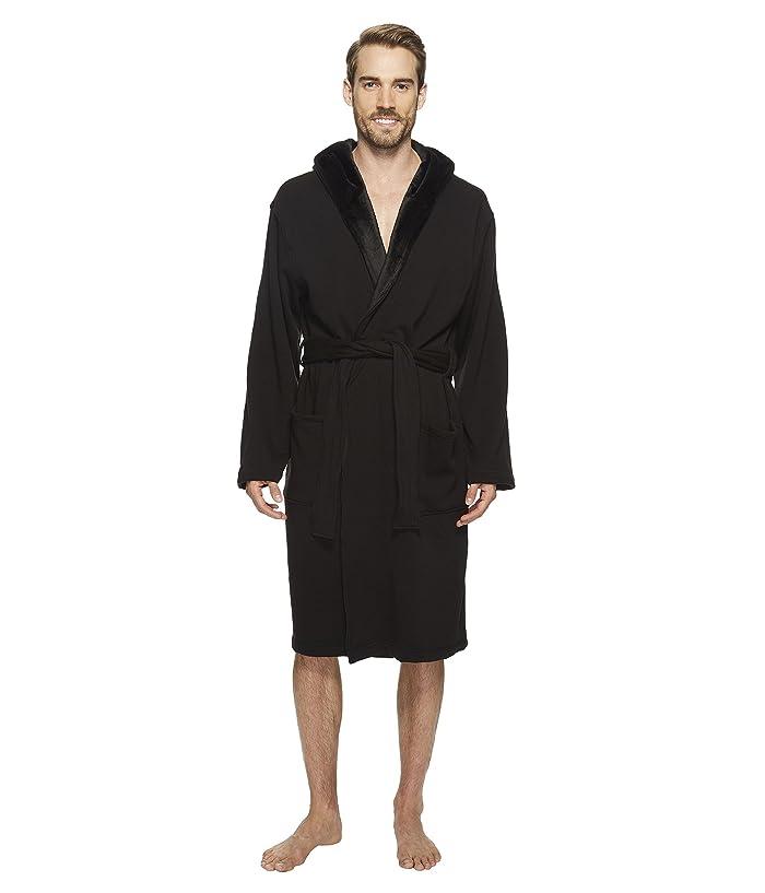 UGG  Brunswick Robe (Black) Mens Robe