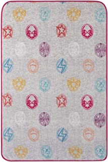 Marvel Rising Secret Warrior Throw Blanket - Measures 46 x 60 inches, Kids Bedding - Fade Resistant Super Soft Fleece - (Official Marvel Product)