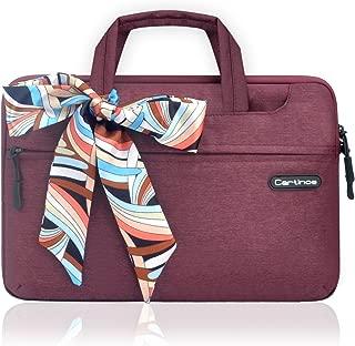 cartinoeブリーフケースのラップトップバッグを運んでいる女性ファッションハンドバッグビジネスワーク