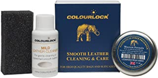 Colourlock Leather Handbag Cleaner & Polishing kit - Ideal kit to Clean, Polish and Protect Bags