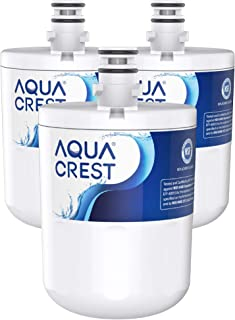 AQUACREST 5231JA2002A Refrigerator Water Filter, Replacement for LG LT500P, ADQ72910911, ADQ72910901(907), Kenmore 9890, 46-9890, GEN11042FR-08 (Pack of 3, Packing May vary)